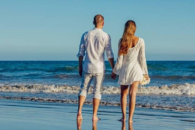 Wedding Beach Love - Free photo on Pixabay (733342)