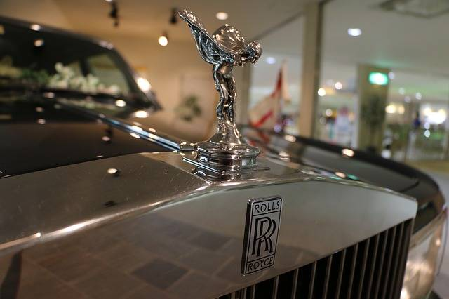 Rolls Royce Car Emblem Luxury - Free photo on Pixabay (733674)