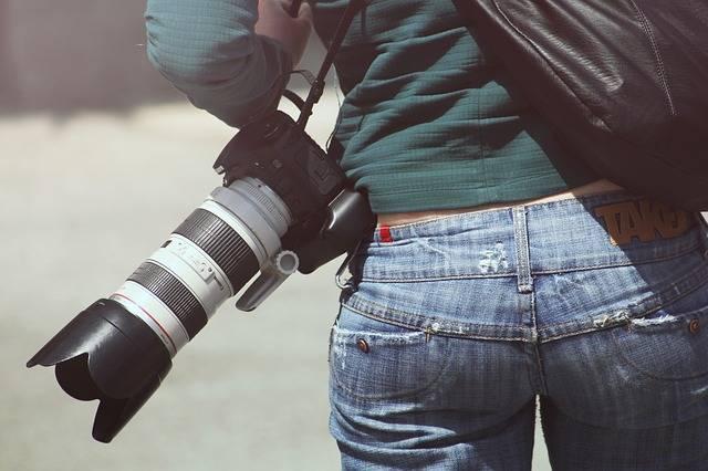 Woman Photographer Sexy - Free photo on Pixabay (734335)