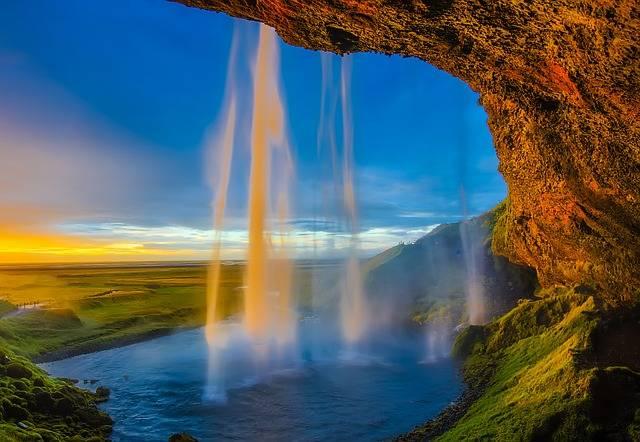 Iceland Skogafoss Waterfall - Free photo on Pixabay (735073)