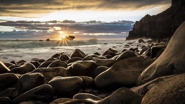 Seascape New Zealand Sunrise - Free photo on Pixabay (735074)