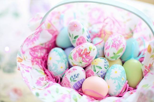 Easter Basket Eggs Decoupage - Free photo on Pixabay (735303)