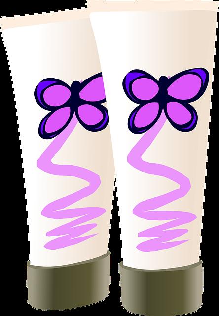 Cosmetics Tube Cream - Free vector graphic on Pixabay (735782)