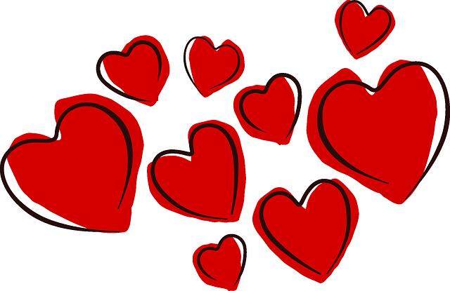 Hearts Valentine Love - Free vector graphic on Pixabay (736889)