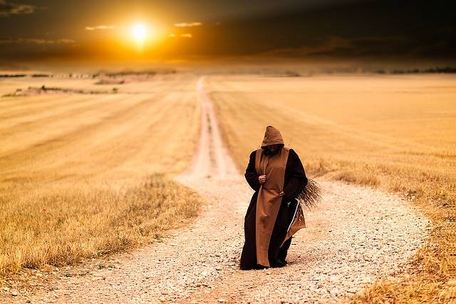 Monks Pilgrimage Pilgrim - Free photo on Pixabay (737497)