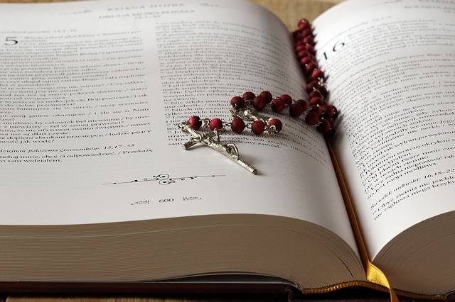 The Rosary Bible Scriptures - Free photo on Pixabay (737499)
