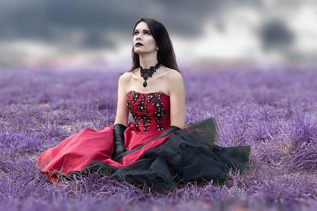 Gothic Woman Dress - Free photo on Pixabay (737663)