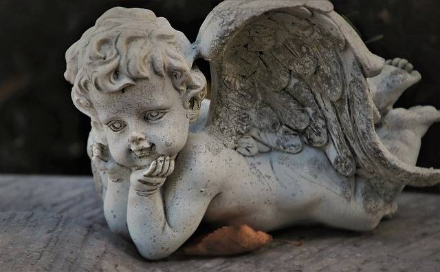 Wing Guardian Angel Tombstone - Free photo on Pixabay (737669)