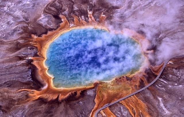 Thermal Spring Grand Prismatic - Free photo on Pixabay (738326)