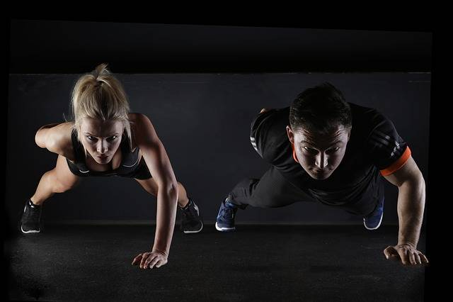 Sport Push-Up Strength Training - Free photo on Pixabay (738329)