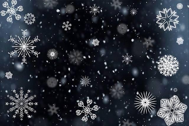 Snowflake Snow Snowing - Free image on Pixabay (739089)