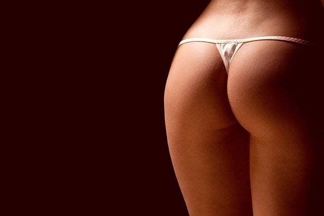 Woman Panties Naked Ass - Free photo on Pixabay (739497)