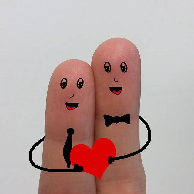 Fingers Drawing Love - Free image on Pixabay (739576)