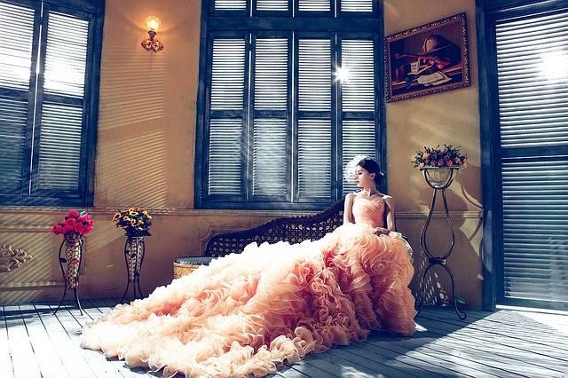 Wedding Dresses Bride Pink - Free photo on Pixabay (739579)