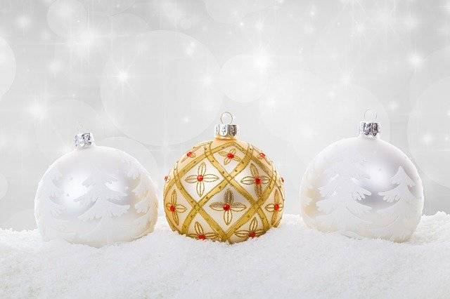 Christmas Ball Baubles Celebration - Free photo on Pixabay (739662)