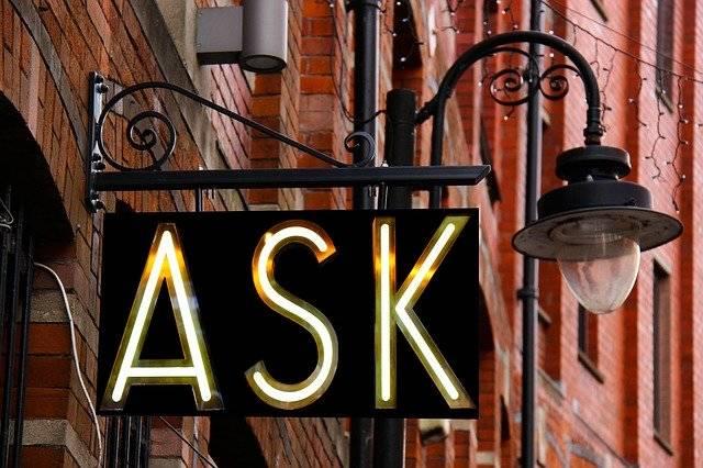 Ask Sign Design - Free photo on Pixabay (739761)