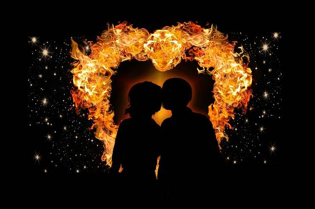 Heart Love Flame - Free photo on Pixabay (740026)