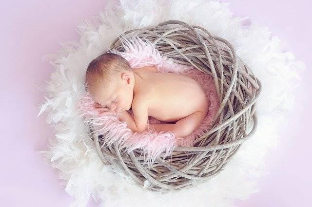 Baby Sleeping Girl - Free photo on Pixabay (741412)