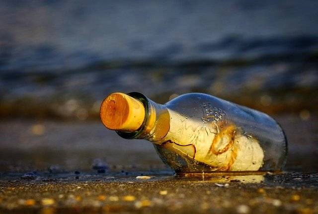 Message In A Bottle Sea - Free photo on Pixabay (741718)