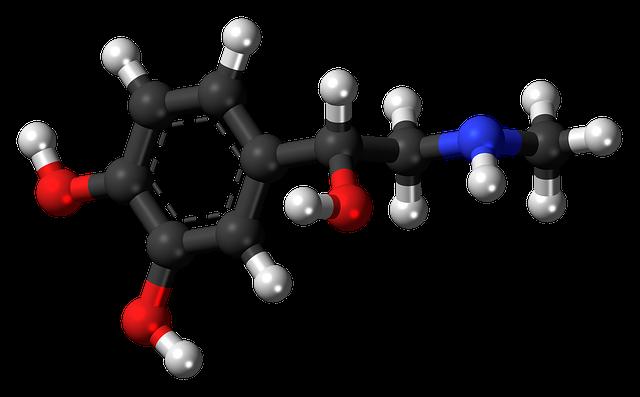 Adrenaline Epinephrine Hormone - Free image on Pixabay (741943)