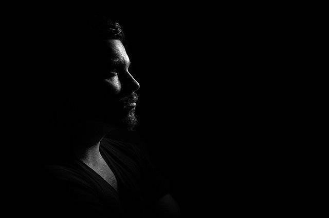 Man Portrait Gloomy - Free photo on Pixabay (742664)