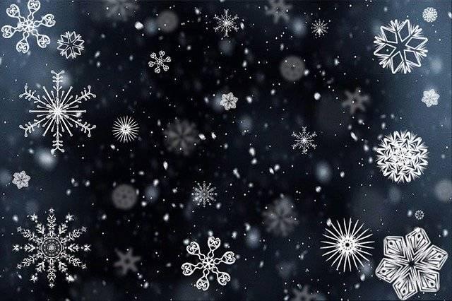 Snowflake Snow Snowing - Free image on Pixabay (742989)