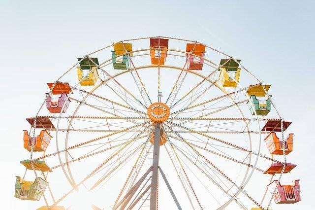 Ferris Wheel Amusement Park Ride - Free photo on Pixabay (743432)