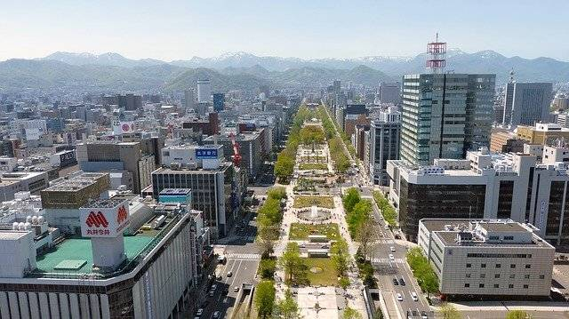 Japan Sapporo Panoramic View - Free photo on Pixabay (744325)