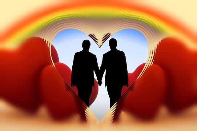 Rainbow Man Homosexuality - Free image on Pixabay (745403)