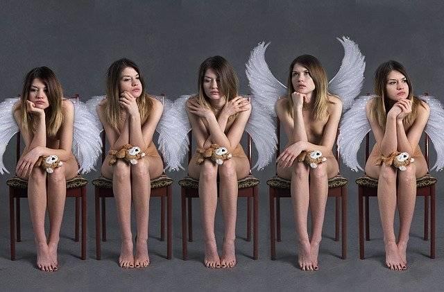 Angels Demographic Decline Girls - Free photo on Pixabay (745709)