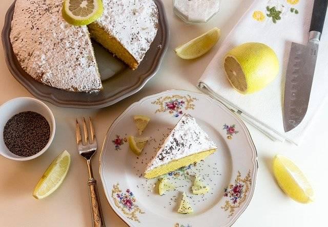 Food Cake Lemon Icing - Free photo on Pixabay (745845)