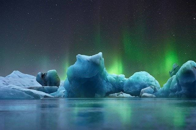 Landscape Ice Aurora Borealis - Free photo on Pixabay (746199)