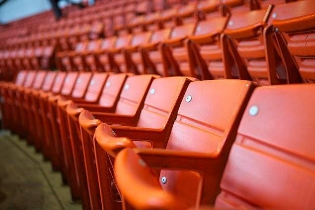 Stadium Seats Orange - Free photo on Pixabay (746215)