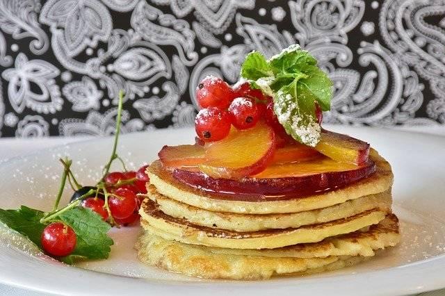 Pancake Honey Fruits - Free photo on Pixabay (746314)