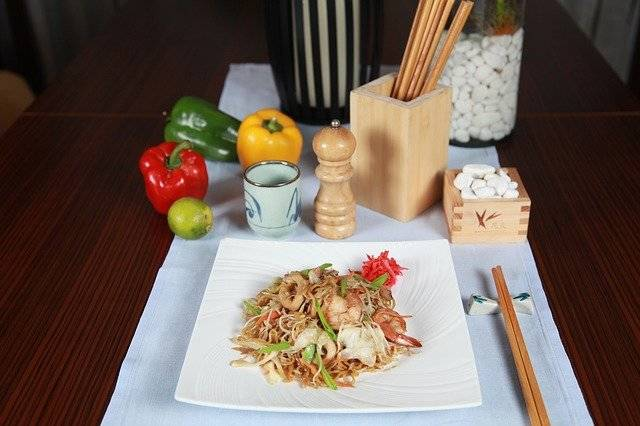 Noodles Thai Pad - Free photo on Pixabay (746515)