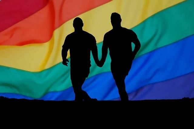 Homosexuality Rainbow Man - Free image on Pixabay (746743)