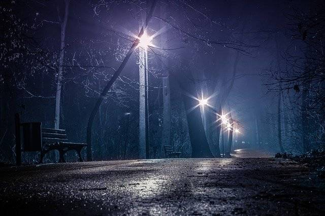 Dark Park The At Night Horror - Free photo on Pixabay (747060)