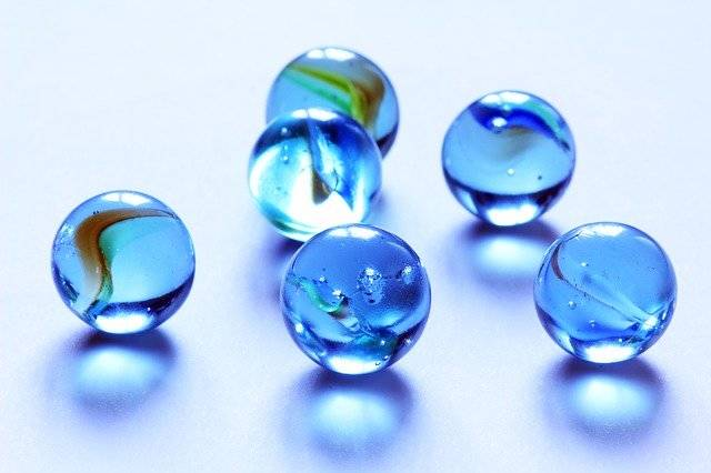 Marbles Blue Glass - Free photo on Pixabay (747403)