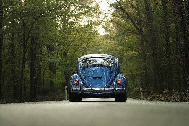 Car Classic Forest - Free photo on Pixabay (747430)