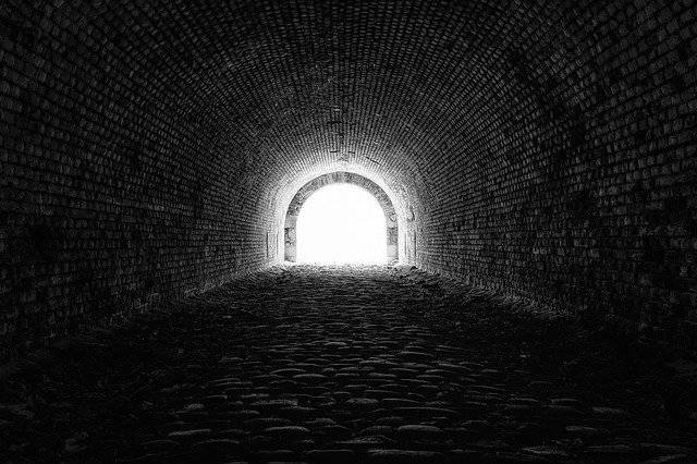Tunnel Light Hope - Free photo on Pixabay (747518)