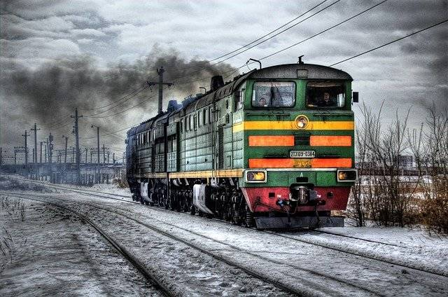 Locomotive Diesel Russia - Free photo on Pixabay (748015)