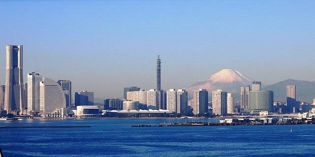 Mt Fuji Yokohama The Bay Bridge - Free photo on Pixabay (748052)