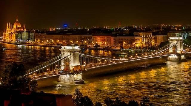 Szechenyi Chain Bridge Suspension - Free photo on Pixabay (748541)
