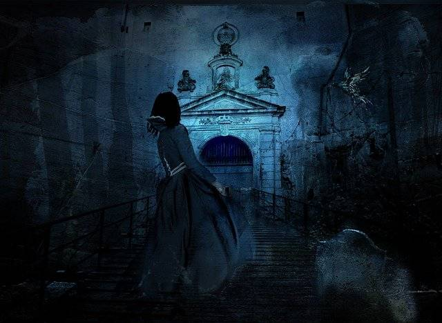 Haunting Night Cemetery - Free photo on Pixabay (748948)