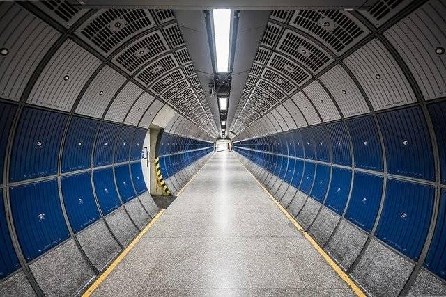 Hallway Tunnel Round - Free photo on Pixabay (748990)