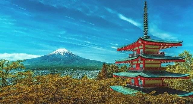 Japan Pagoda Fuji - Free photo on Pixabay (749314)
