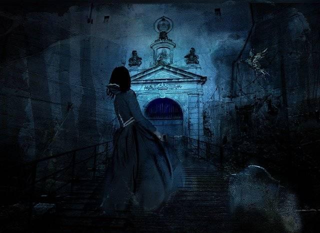 Haunting Night Cemetery - Free photo on Pixabay (749640)