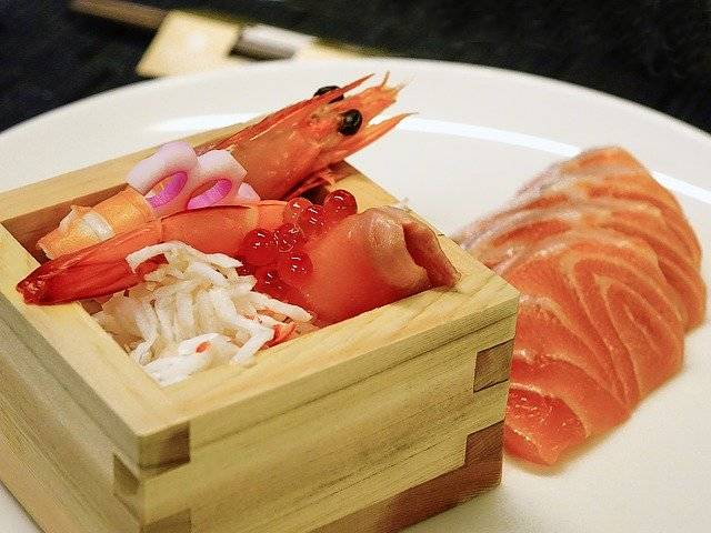 Sashimi Salmon Fish Ikura - Free photo on Pixabay (749783)