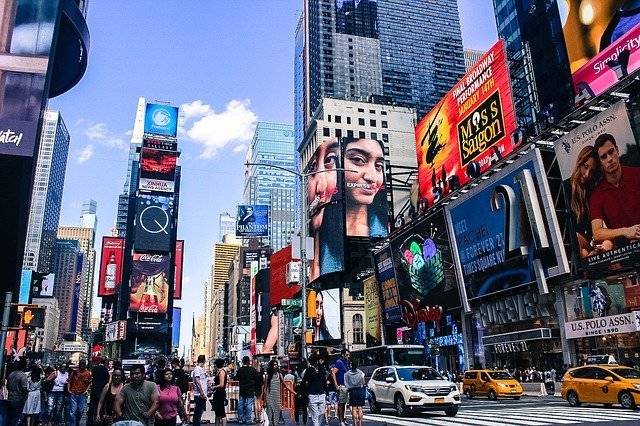 Times Square Nyc City - Free photo on Pixabay (749960)