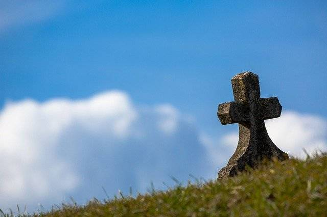 Grave Sky Cross - Free photo on Pixabay (750340)